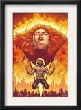 New X-Men 150 Cover: Phoenix and Wolverine Prints by Phil Jimenez