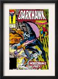 War Of Kings: Darkhawk 2 Cover: Darkhawk, Hobgoblin and Spider-Man Prints by Mike Manley