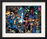 Fantastic Four 571 Group: Mr. Fantastic, Silver Surfer and Galactus Posters by Dale Eaglesham