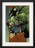 Ultimate Wolverine vs. Hulk 4 Cover: Wolverine, Hulk and She-Hulk Posters by Leinil Francis Yu