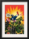 Captain America V4, 29 Cover: Captain America Posters by Dave Johnson
