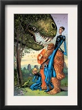 Marvel Adventures Fantastic Four 5 Cover: Mr. Fantastic Prints by Manuel Garcia
