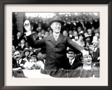 President Woodrow Wilson Throwing Out the First Ball, Opening Day, 1916 Art