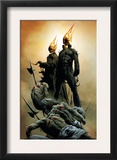 Ghost Riders: Heavens On Fire 1 Cover: Ghost Rider Posters by Jae Lee