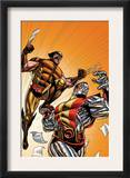 Wolverine First Class 21 Cover: Colossus and Wolverine Posters by David Williams