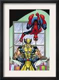 Marvel Holiday Special 2007 1 Cover: Spider-Man and Wolverine Prints by Ron Lim