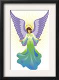 Angel Tree Topper, Grouped Elements Poster
