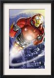 Ultimate Iron Man II 3 Cover: Iron Man Print by Pasqual Ferry