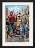 Marvel Adventures Spider-Man 34 Group: Spider-Man, Green Goblin, Flash Thompson Prints by Cory Hamscher