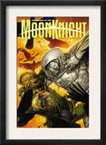 Vengeance of the Moon Knight 5 Cover: Moon Knight and Scarecrow Art by Leinil Francis Francis Yu