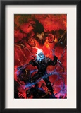 Ghost Rider: Danny Ketch 4 Cover: Ghost Rider Prints by Clint Langley
