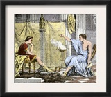 Aristotle Instructing the Young Alexander the Great Art