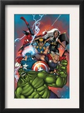 Marvel Adventures The Avengers 36 Cover: Hulk Prints by Ig Guara