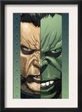 Ultimate Wolverine Vs. Hulk 2 Cover: Logan and Hulk Print by Leinil Francis Yu