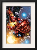 The Invincible Iron Man 1 Cover: Iron Man Prints by Joe Quesada