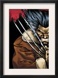 Weapon X: Days Of Future Now 1 Cover: Wolverine Print by Bart Sears