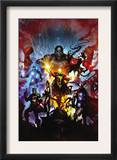 Realm of Kings 1 Cover: Quasar Posters by Clint Langley