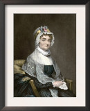Abigail Adams, with Her Autograph Prints