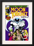 Moon Knight 1 Cover: Moon Knight Poster by Bill Sienkiewicz