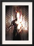Human Torch Comics 70th Anniversary Special 1 Cover: Human Torch Print by Adi Granov