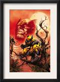 Wolverine: Killing Made Simple 1 Cover: Wolverine Prints by Stephen Segovia