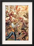 Ultimate X-Men 84 Group: Stryfe and Sentinel Prints by Yanick Paquette