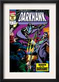 War Of Kings: Darkhawk 1 Cover: Darkhawk Prints by Mike Manley
