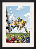 The Age Of The Sentry 4 Cover: Sentry Print by Dave Bullock