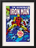 The Invincible Iron Man 1 Cover: Iron Man Art by Gene Colan