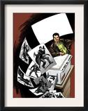 Madrox 4 Cover: Madrox Charging Poster by David Lloyd