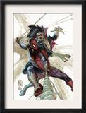 The Amazing Spider-Man 622 Cover: Spider-Man and Morbius Prints by Simone Bianchi
