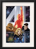 Fantastic Four Giant-Size Adventures 1 Cover: Invisible Woman Print by David Williams