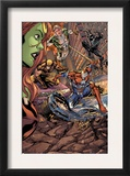 Savage She-Hulk 2 Group: Iron Patriot, Wolverine, Spider-Man and Marvel Boy Prints by Peter Vale