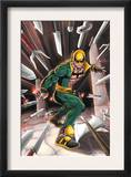 Iron Fist N3 Cover: Iron Fist Print by Kevin Lau