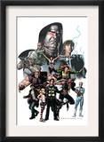 X-Factor 23 Cover: Madrox, Wolfsbane, Miller, Layla, Siryn and Quicksilver Prints by Pablo Raimondi