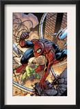 Marvel Adventures Spider-Man 45 Cover: Spider-Man and Doctor Octopus Prints by Zach Howard