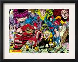 X-Men 1 Pin-up Group: A Villains Gallery Posters by Jim Lee