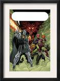 X-Men: First Class 11 Group: Dr. Doom, Mephisto and Green Goblin Prints by Nick Dragotta