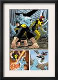 X-Men: First Class 11 Group: Beast, Iceman and Marvel Girl Poster by Nick Dragotta