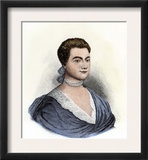 Abigail Adams at Age 22 Art