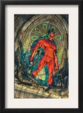 Daredevil 100 Cover: Daredevil Prints by Michael Turner