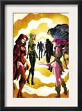 Exiles 3 Cover: Scarlet Witch, Polaris and Blink Prints by Dave Bullock