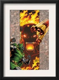 Iron Man: Legacy Of Doom 2 Cover: Iron Man and Dr. Doom Print by Ron Lim