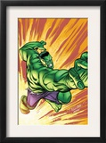 Marvel Adventures Hulk 3 Cover: Hulk Print by David Williams