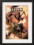 Marvel 1602: Fantastick Four 5 Cover: Mr. Fantastic and Dr. Doom Prints