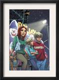 Mary Jane 4 Cover: Watson, Mary jane, Thompson and Flash Fighting Posters by Takeshi Miyazawa