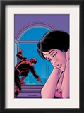 Daredevil 94 Cover: Donovan, Milla and Daredevil Prints by John Romita Sr.