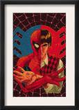 Spider-Man: With Great Power&amp; 1 Cover: Spider-Man, Peter Parker Print by Tony Harris