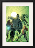World War Hulk: Gamma Corps 1 Cover: Griffin, Prodigy, Mess, Mr. Gideon and Grey Poster by Stephane Roux