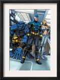 Cable & Deadpool 6 Group: Cyclops, Beast and Emma Frost Print by Patrick Zircher